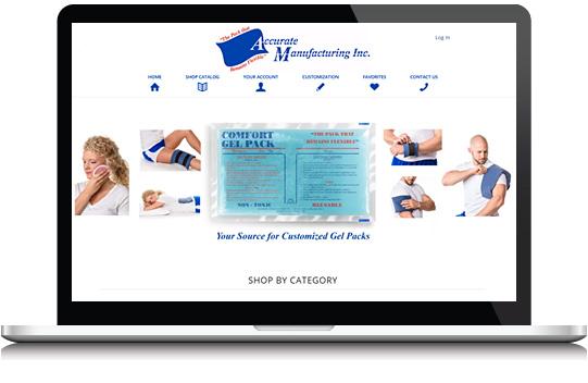 custom medical website design