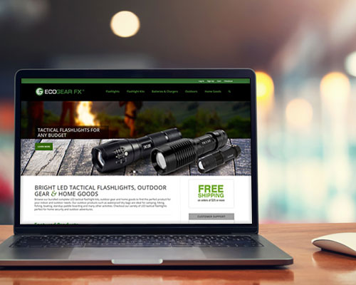 ecogear fx flashlight manufacturing